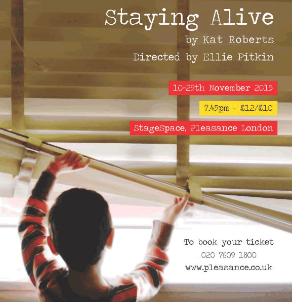 Interview with Nicola Whitworth about 'Staying Alive'
