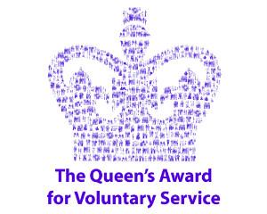 Queen's Award for Voluntary Service logo