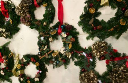 Slowsibs Christmas Wreath Making Workshop 15 December 2018 Slow