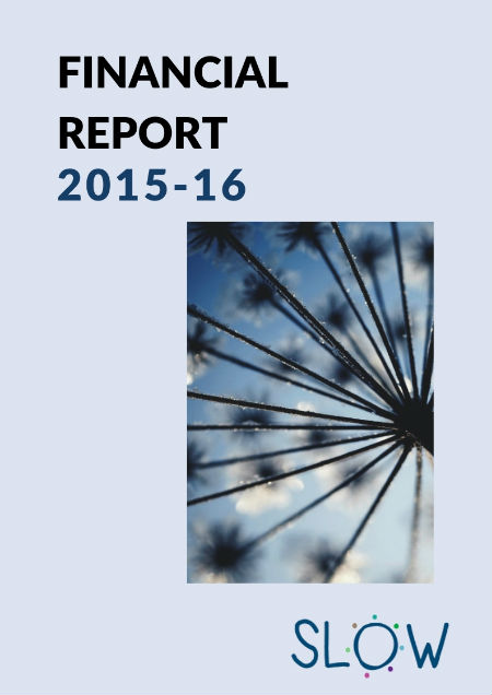 SLOW Financial Report 2015-16